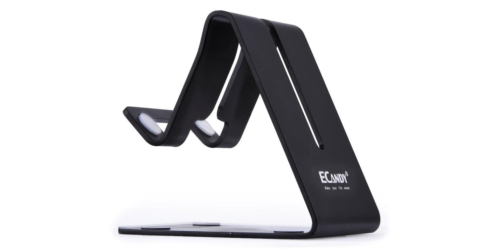 ecandy-black-aluminum-stand