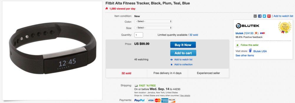 fitbit-alta-on-ebay