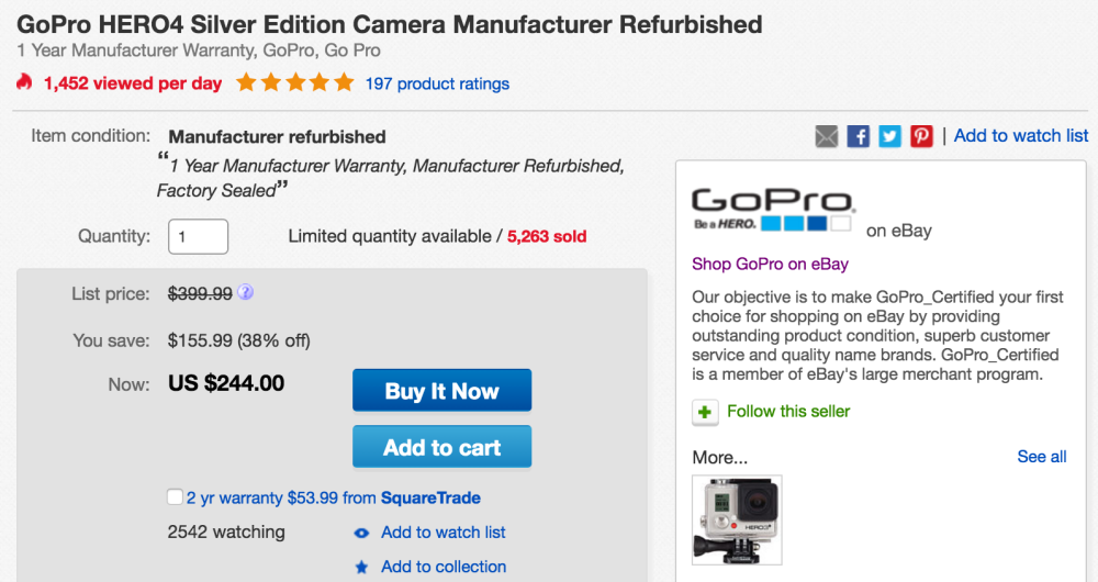 gopro-hero4-refurb-ebay-deal