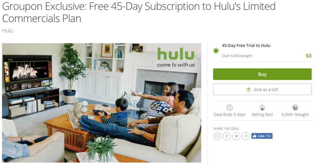 groupon-hulu-plus-deal
