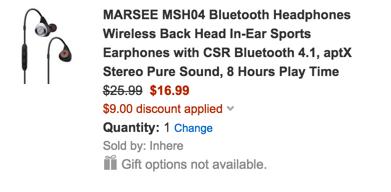 marsee bt headphones