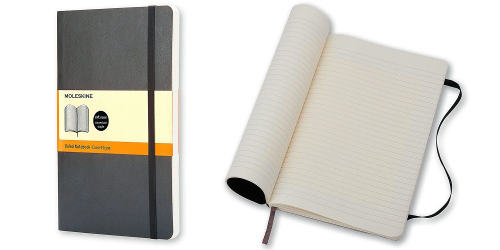 Moleskine Classic Ruled Soft Cover Notebook
