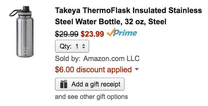 takeya-thermoflask-bottle-amazon-deal