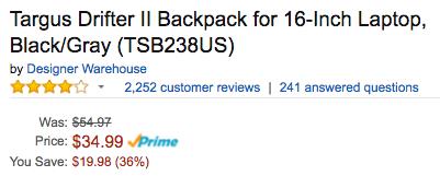 targus-drifter-ii-backpack-amazon-deal
