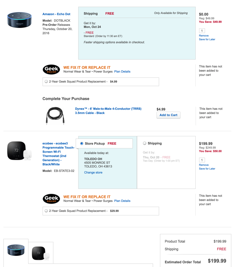 best-buy-ecobee3-echo-dot-deal
