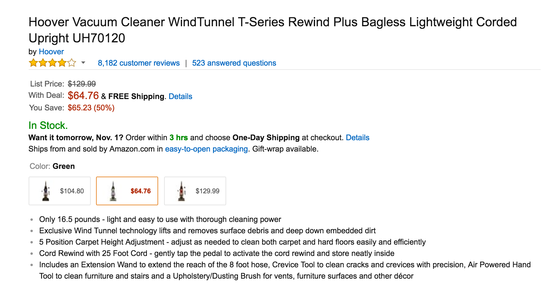 hoover-corded-upright-vacuum-cleaner-windtunnel-t-series-rewind-plus-bagless-uh70120-2