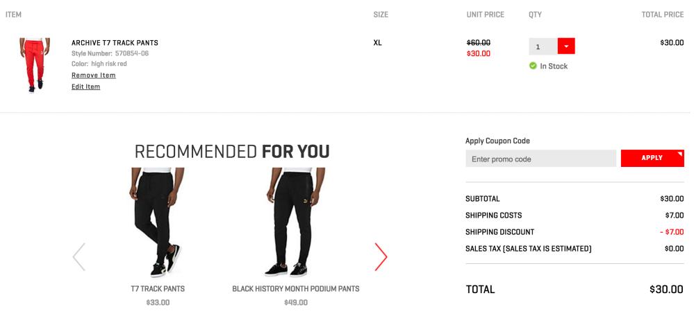 puma-pants-shipping-deal