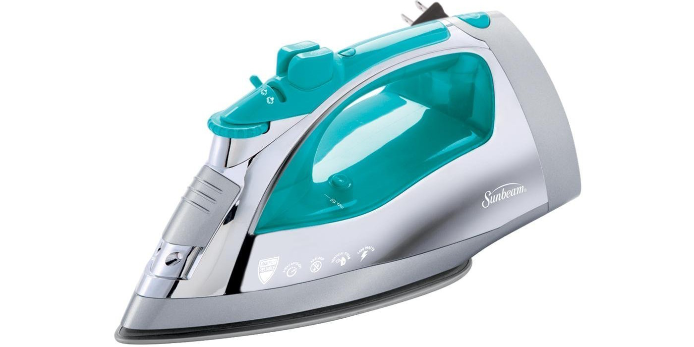 sunbeam-steam-master-iron-with-anti-drip-non-stick-stainless-steel-soleplate-and-8-retractable-cord
