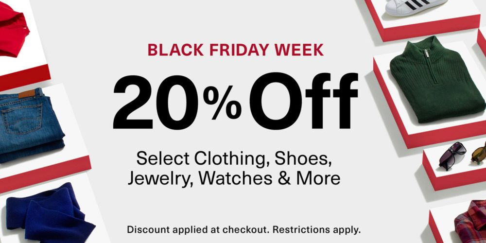 Take 20 Off In Amazon S Black Friday Fashion Sale Save On Clothes Shoes Watches And More From The Biggest Names 9to5toys