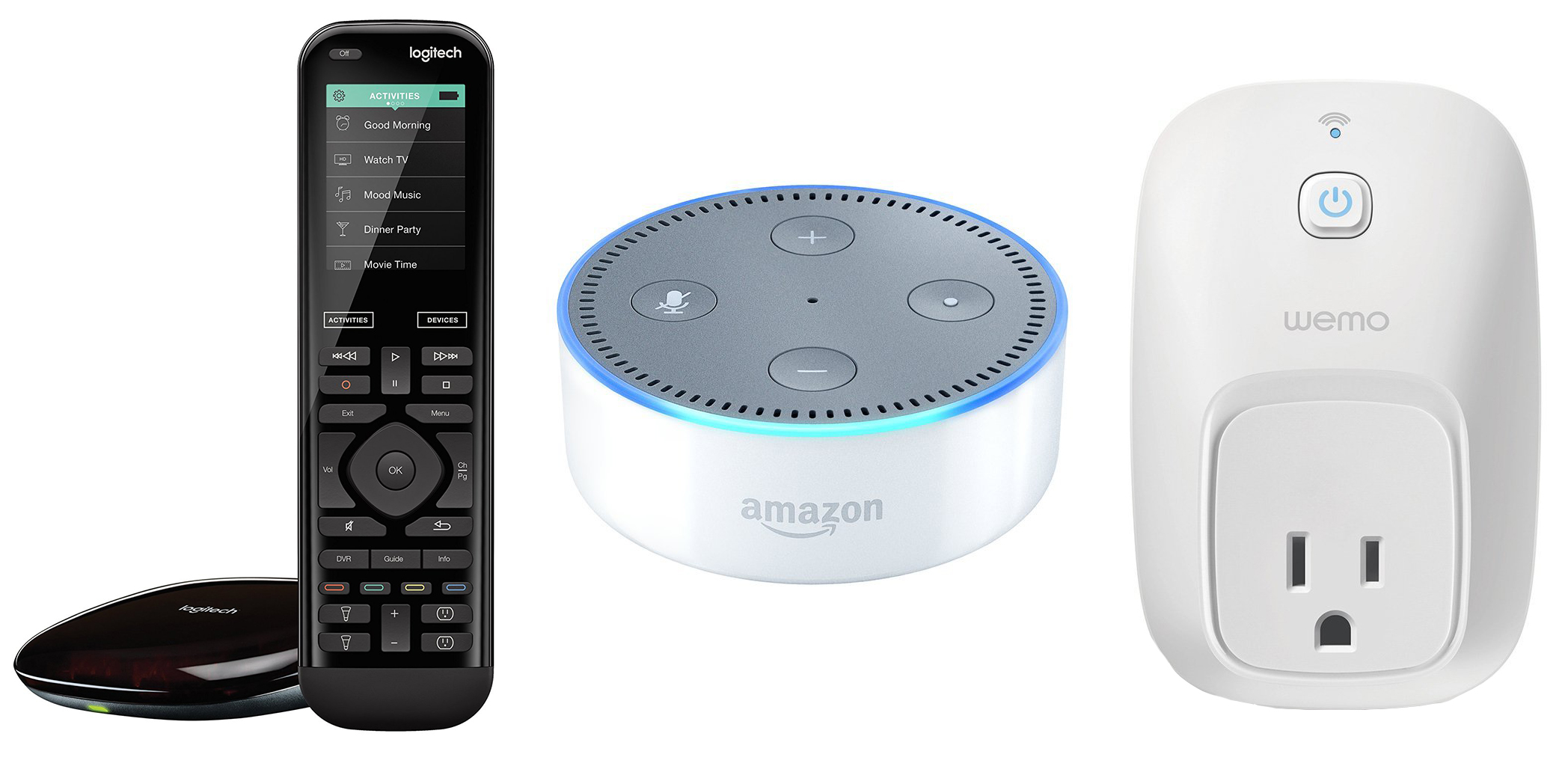 Amazon Echo Logitech Harmony