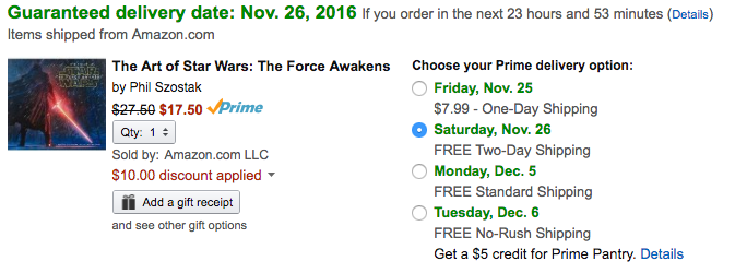 amazon-the-art-of-star-wars-book-sale