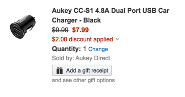 aukey-charger-code