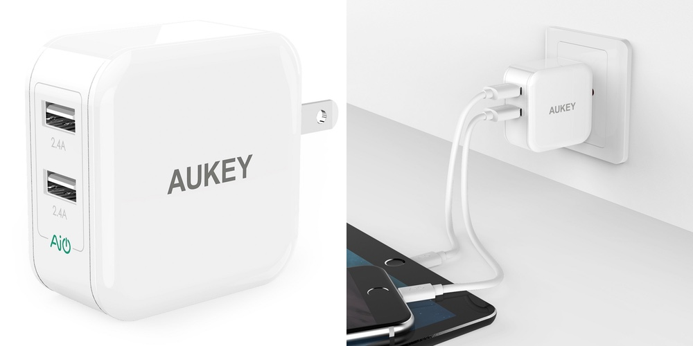 aukey-dual-port-wall-charger