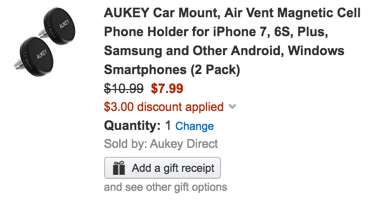 aukey-vent-mount-code