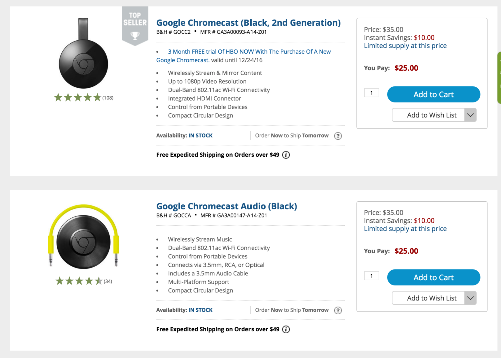 chromecast-2-deals