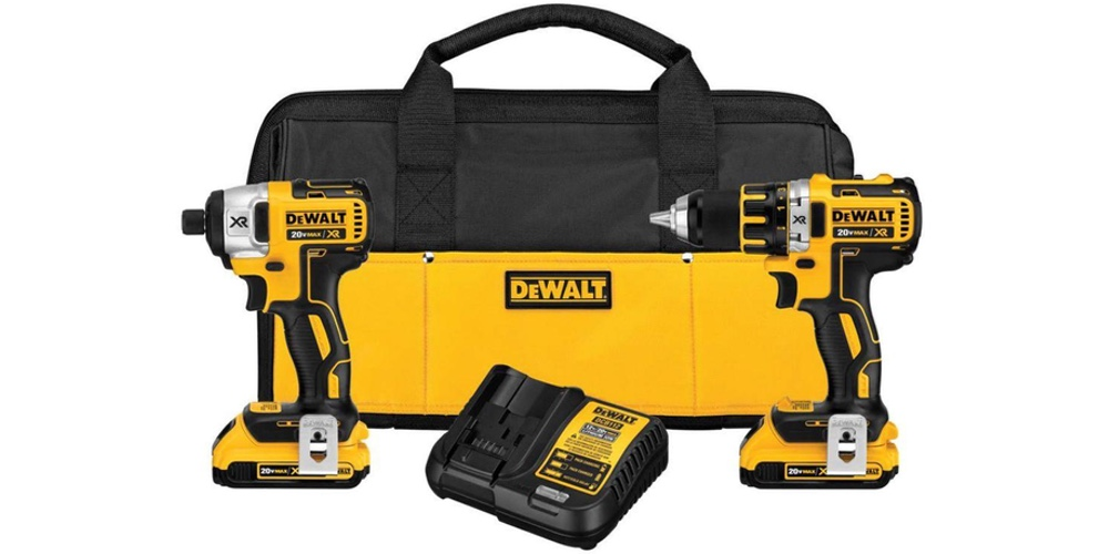 dewalt-dck281d2-20v-max-xr-lithium-ion-brushless-compact-drilldriver-impact-driver-combo