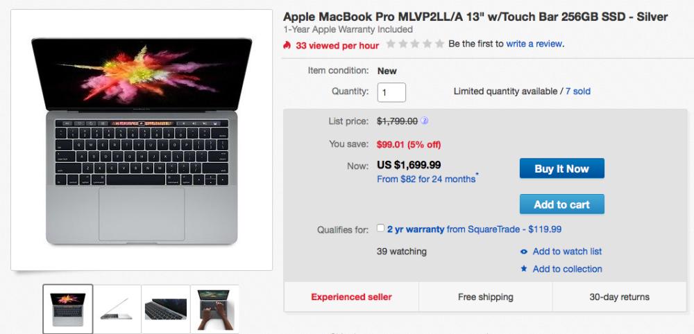 ebay-apple-macbook-pro-13-inch-sale