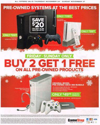 GameStop Black Friday 2016 Ad: PS4 bundle + extra game $250