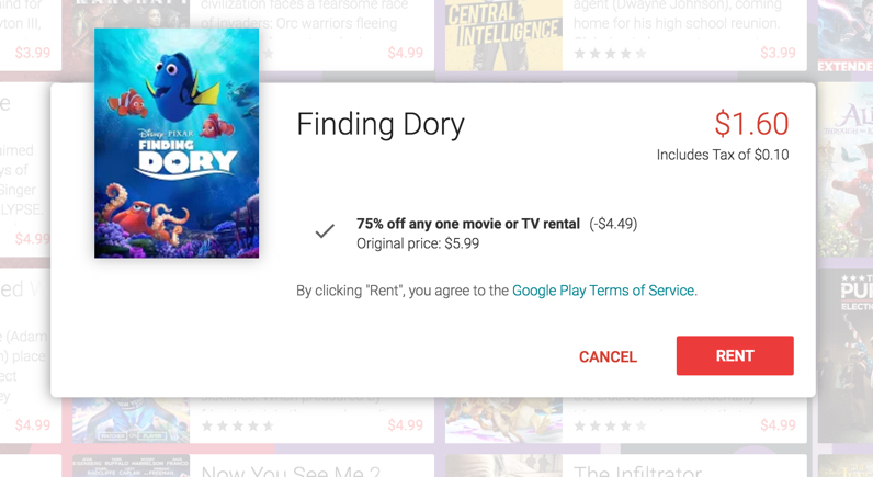 google-play-discounted-rental