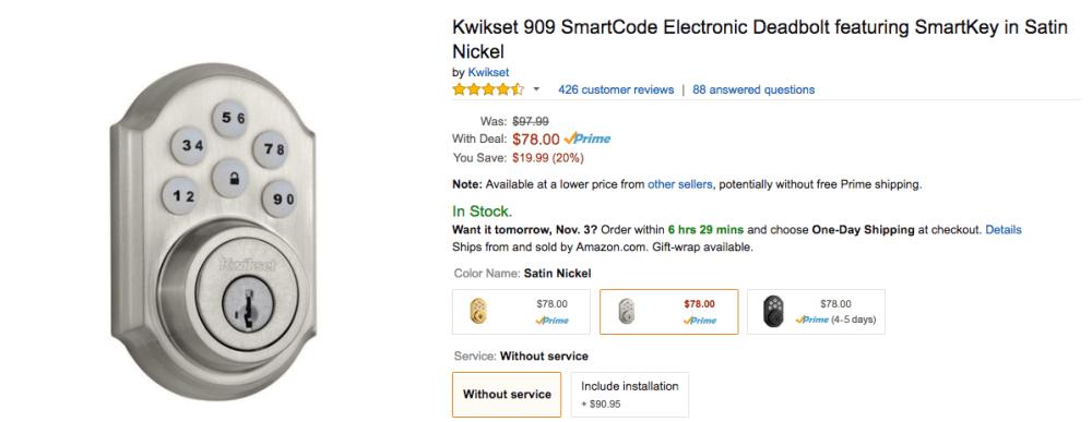 kwikset-smartcode-smartkey-electronic-deadbolt-sale
