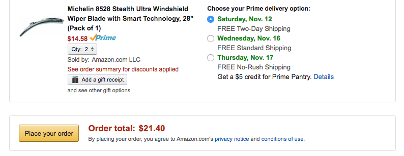 michelin-stealth-ultra-windshield-wiper-blade-amazon