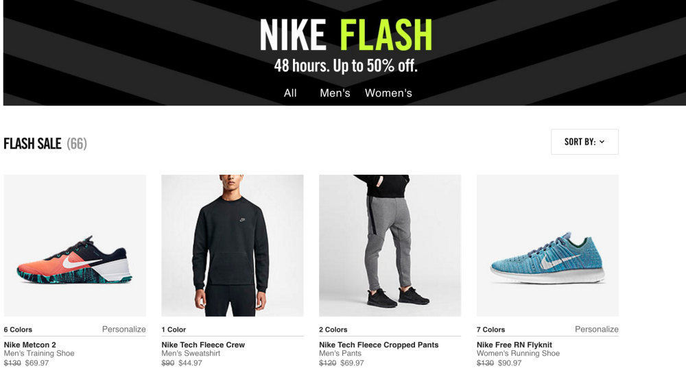 nike-48-hour-flash-sale
