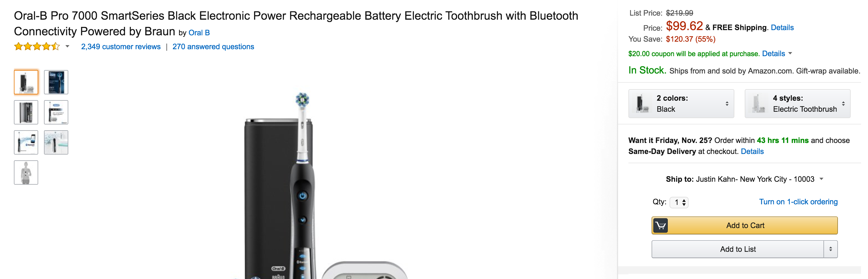 oral-b-black-7000-smartseries-electric-rechargeable-toothbrush-2