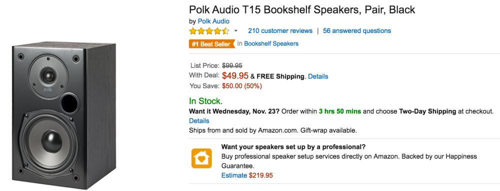 Polk Audio Speakers Amazon