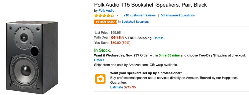 Polk Audio Speakers Amazon