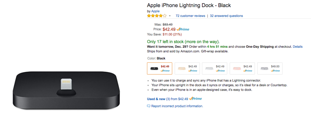 amazon-apple-iphone-lighting-dock-price
