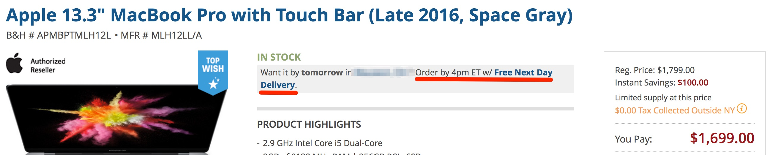 apple-13-inch-macbook-pro-bh-deal
