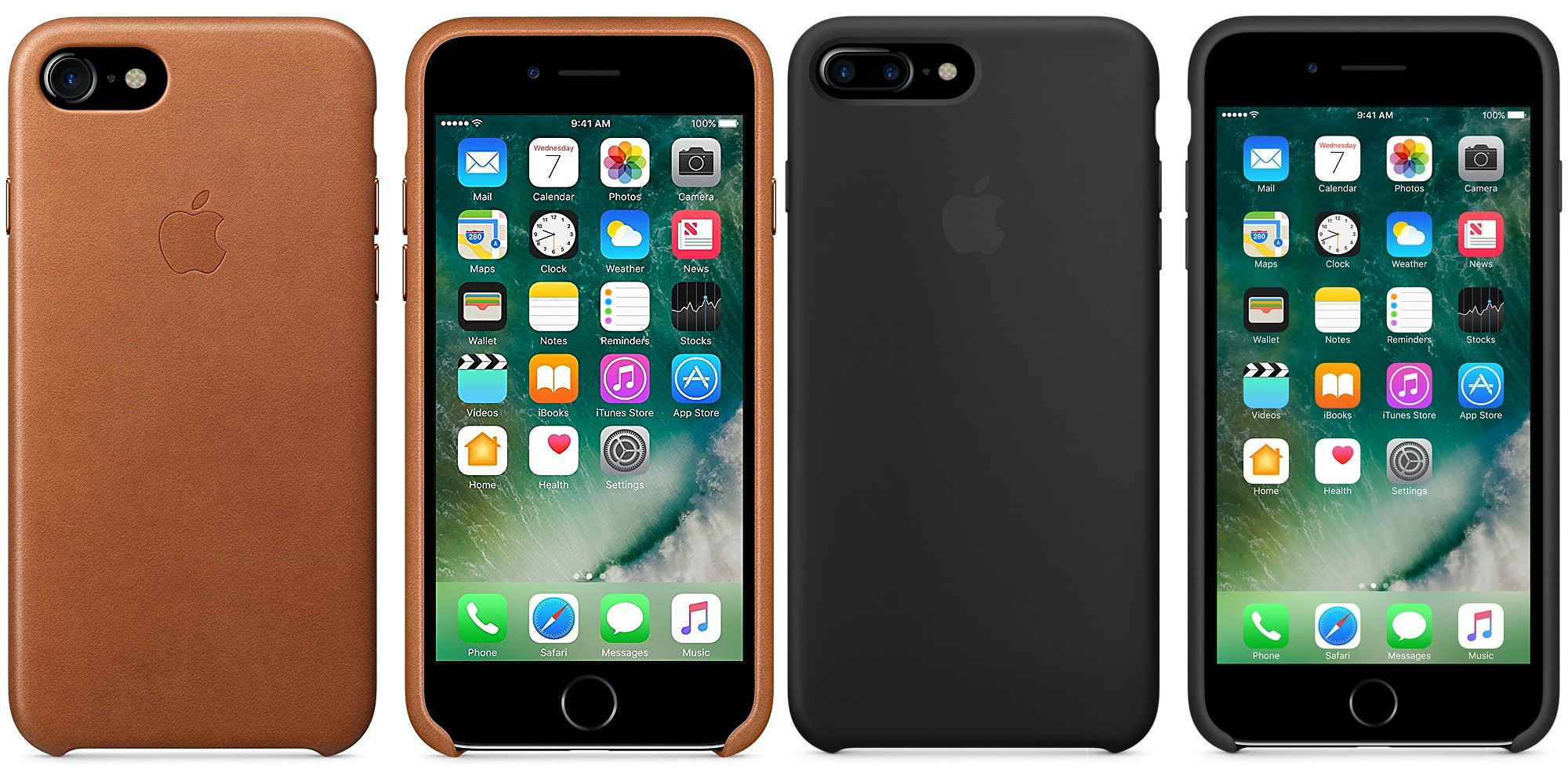 uk availability 32590 1386f Apple's official Leather & Silicone iPhone 7/Plus Cases hit Amazon ...