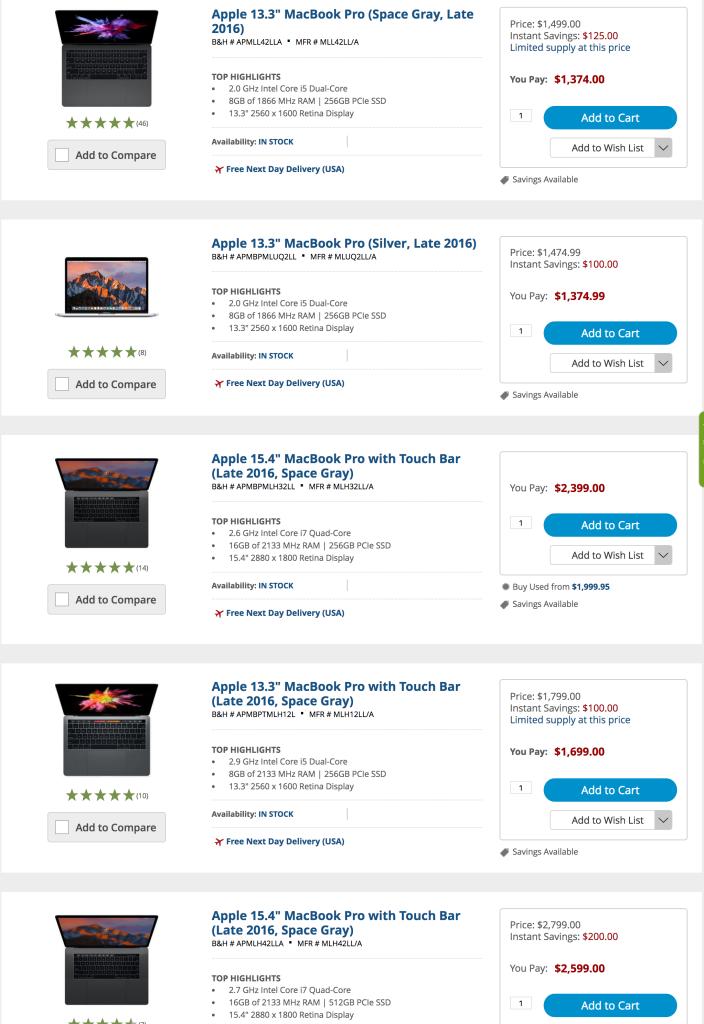 apple-macbook-pro-touchbar-bh-deals