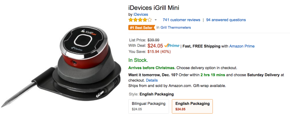 idevices-igrill-mini-amazon-sale