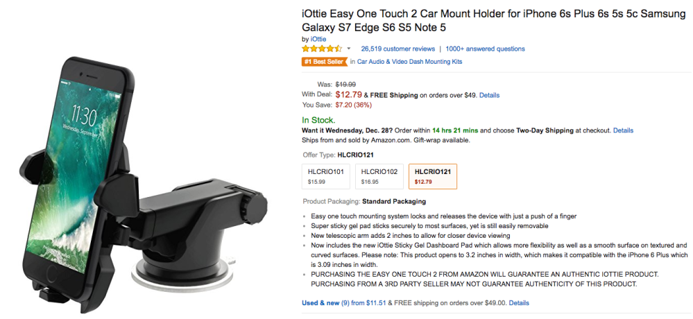 iottie-one-touch-2-car-mount-amazon