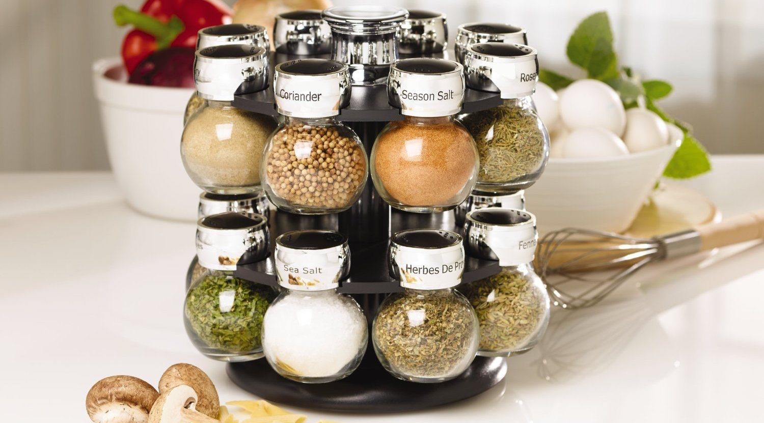 kamenstein-ellington-16-jar-revolving-spice-rack-with-spice-refills-for-5-years