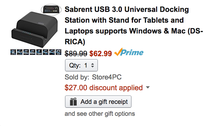 sabrent-dock-amazon-deal