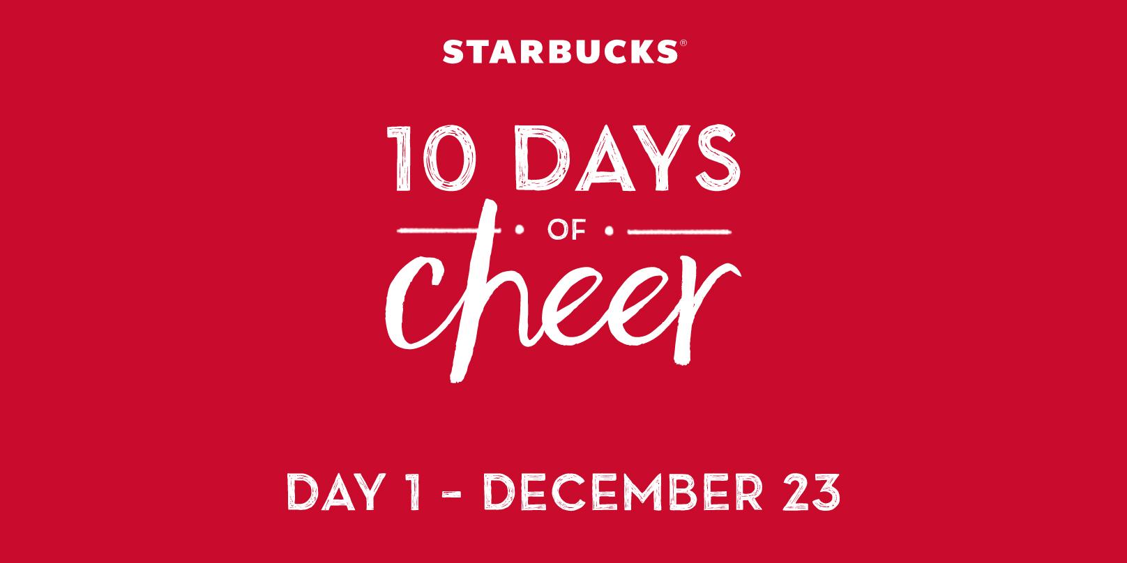 starbucks-10-days-cheer-promotion