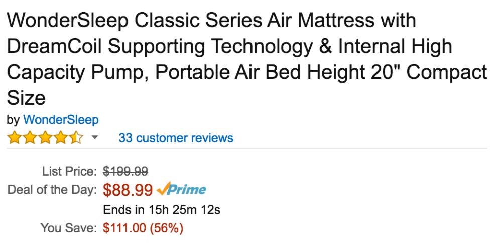 wondersleep-amazon-mattress-deal