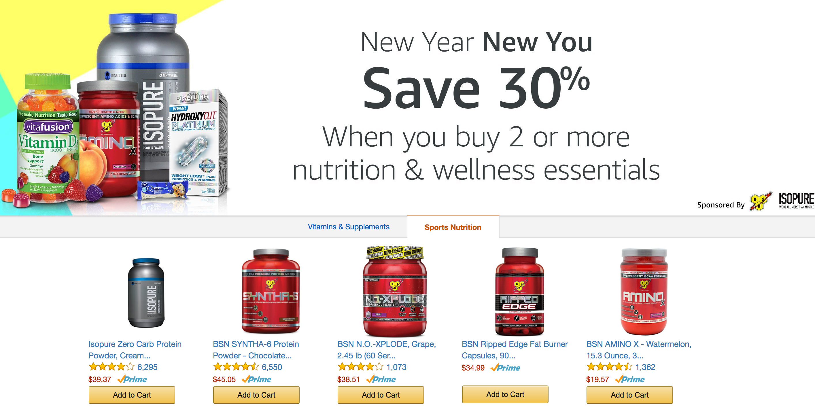 amazon-bsn-protein-products