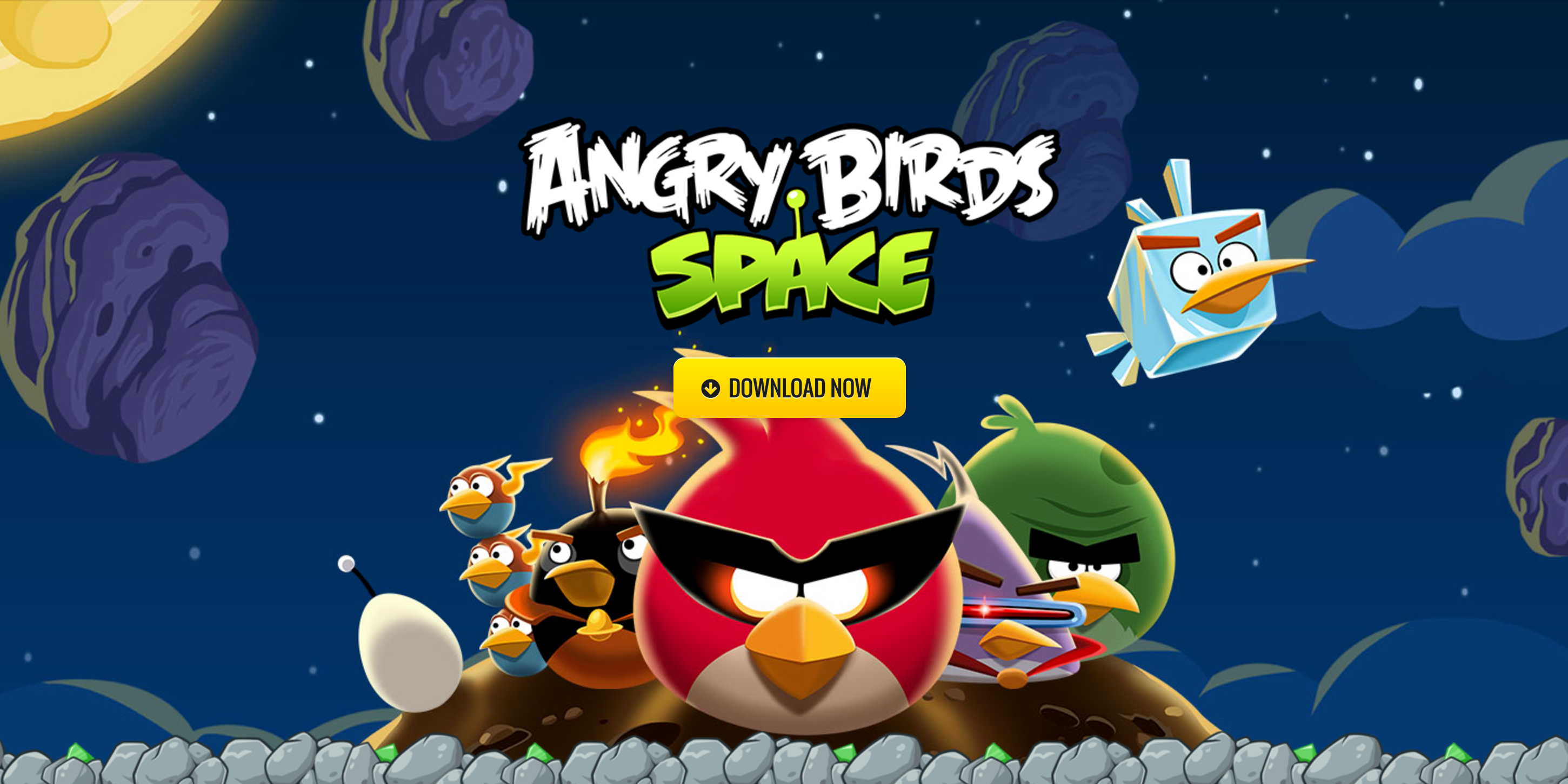 App Store Free App of the Week: Angry Birds Space goes free
