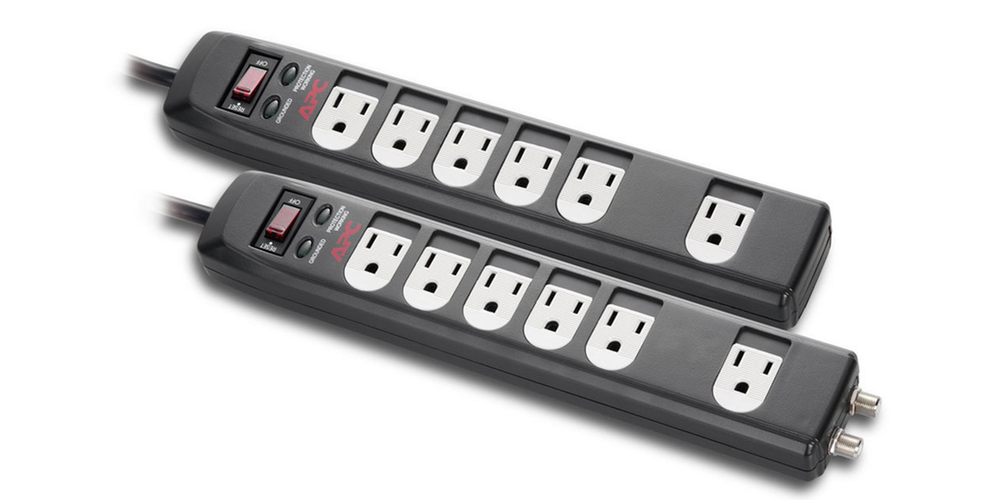 apc-6-outlet-surge-protector-with-coax
