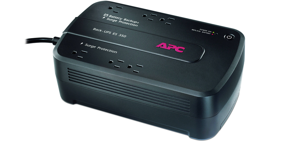 Protect your electronics with the 6-outlet APC 350VA Battery Backup and Surge Protector for $38 Prime shipped (Orig. $50)