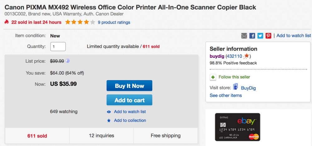 canon-pixma-printer-ebay-deal