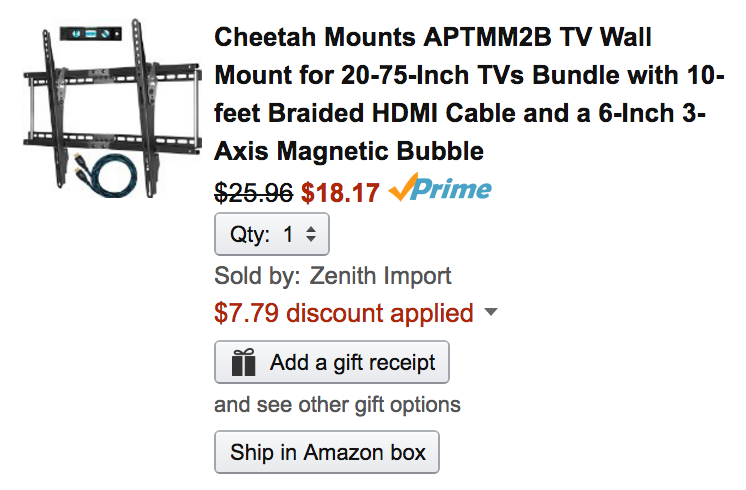 cheetah-wall-mount-amazon-deal