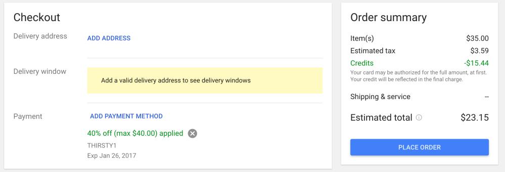 google-express-promo-code