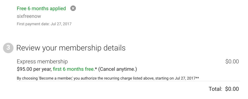google-express-six-months-free-deal