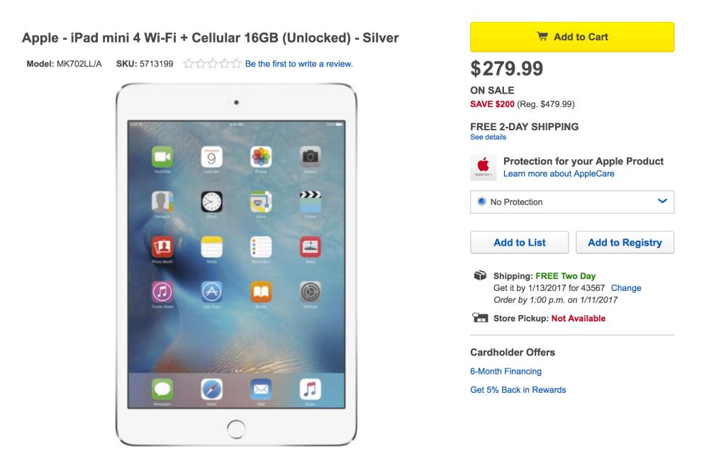 ipad-mini-4-best-buy-deal