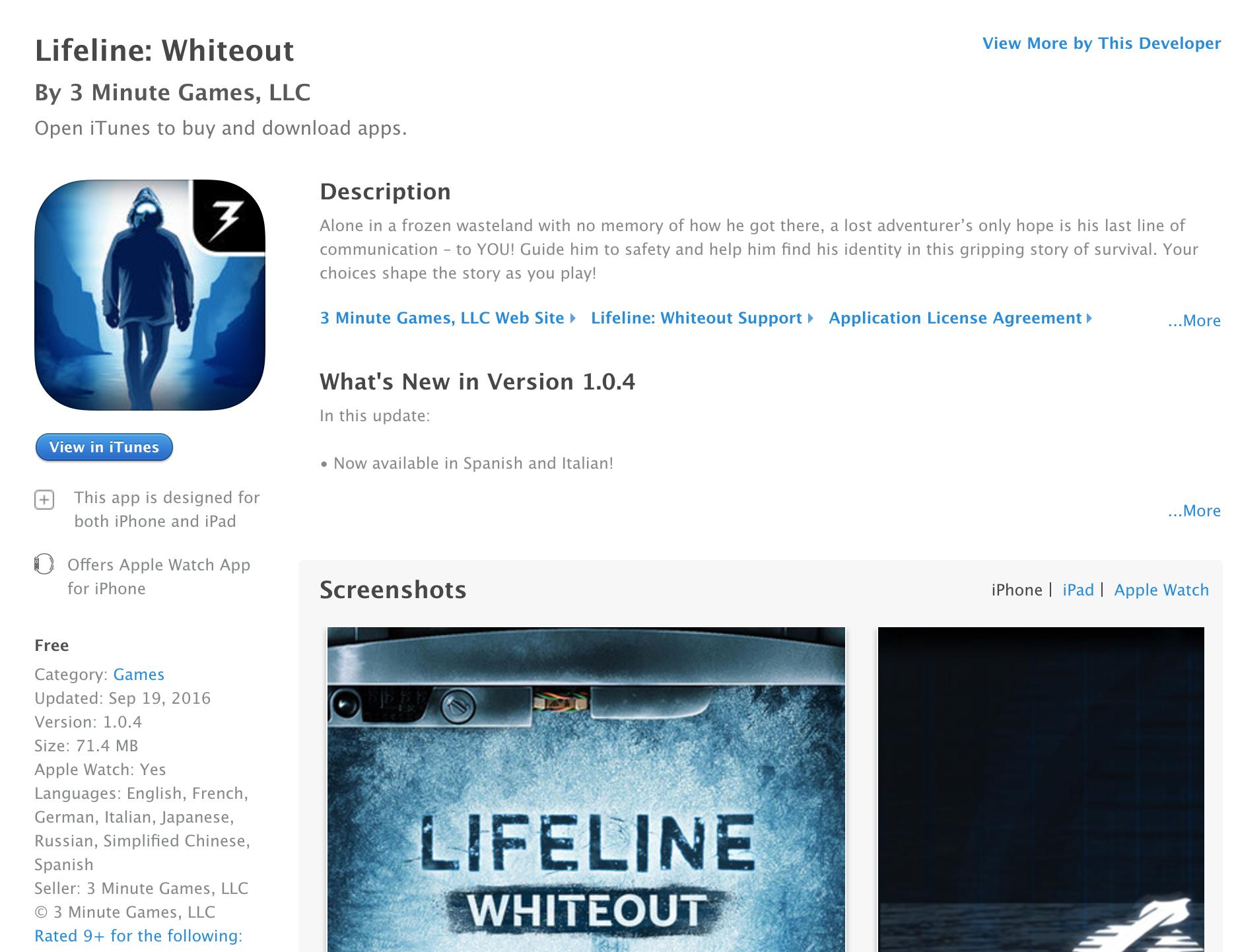 lifeline-whiteout-for-ios-sale-01