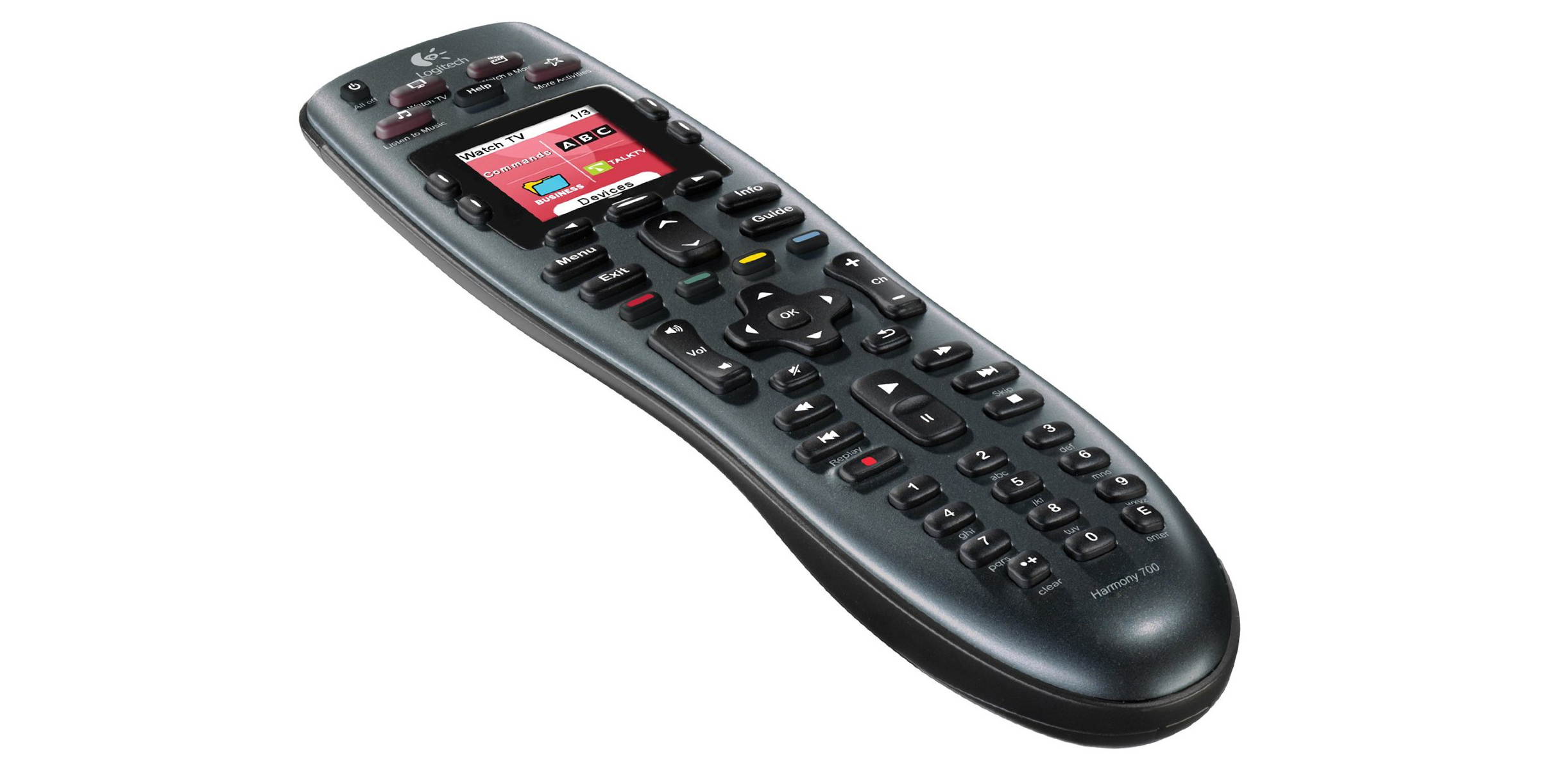 Control up to 8 devices w/ Logitech's Harmony 700 Remote at $60 shipped (25% off)